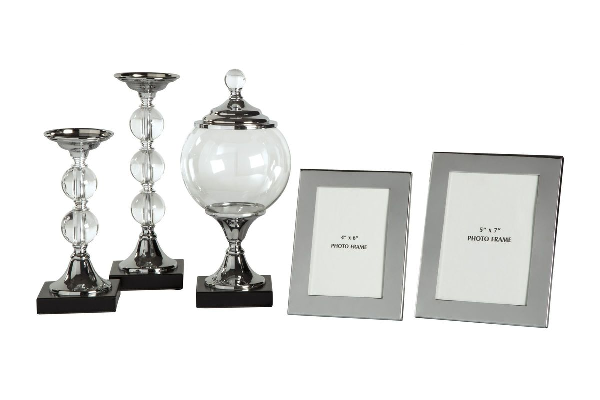Diella Accessory Set Set of 5 by Ashley from Gardner-White Furniture