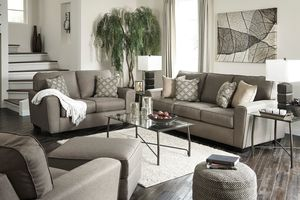 Sofa + Loveseat + Tables Calicho 5 Piece Big Picture Package With 2 LED TVs  Save $1,100 Now $1,799.95