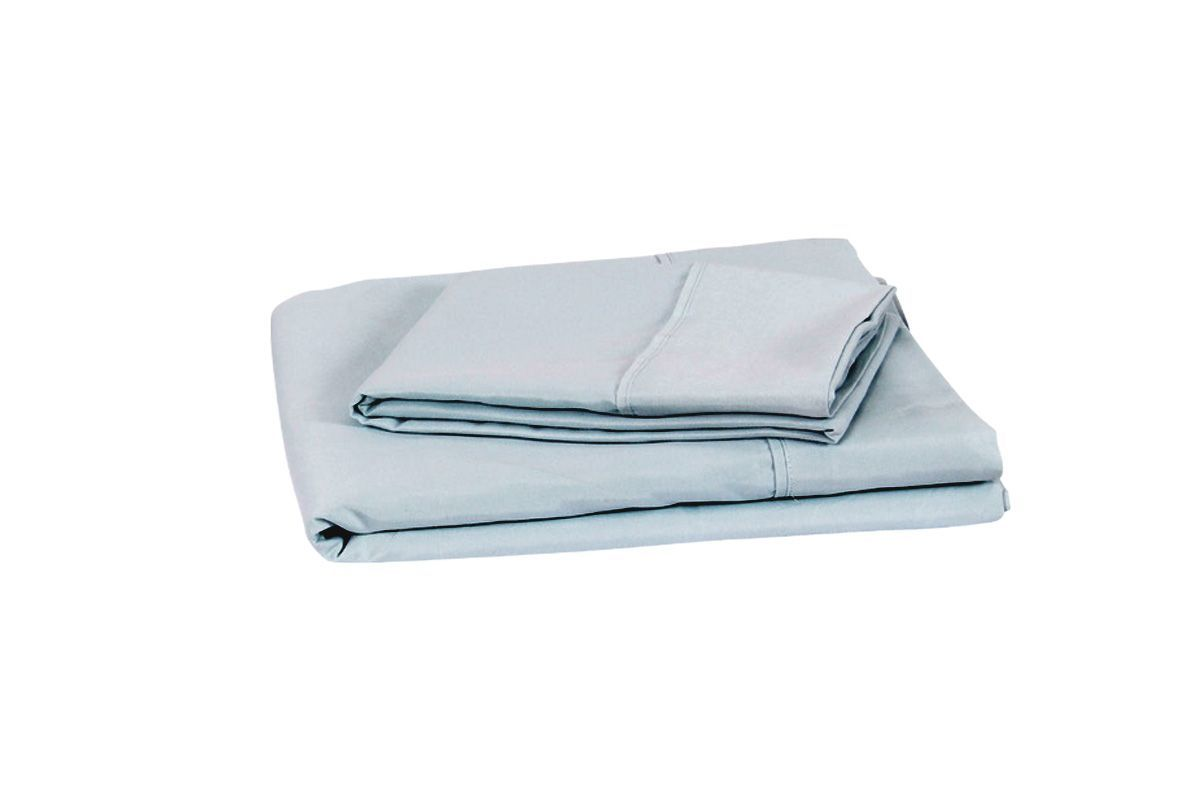 King Microfiber Sheets in Blue by Brooklyn Bedding from Gardner-White Furniture