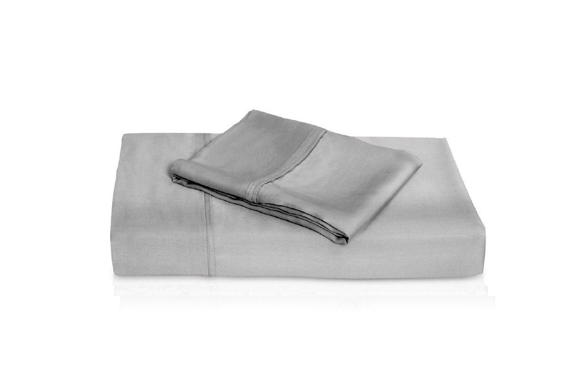 King Bamboo Sheets in Silver by Brooklyn Bedding from Gardner-White Furniture