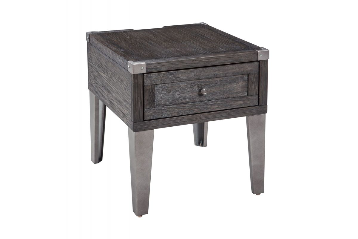 Todoe Rectangular End Table by Ashley from Gardner-White Furniture