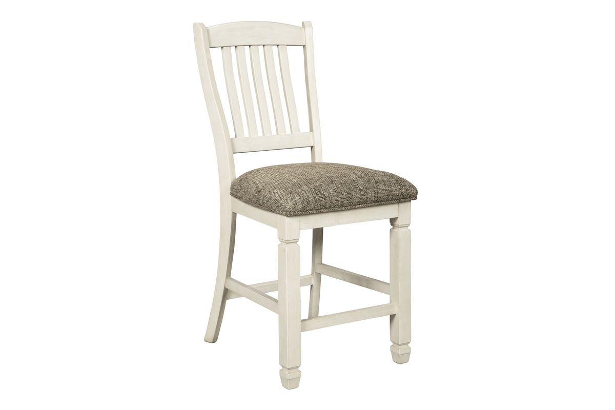 Bolanburg Upholstered Barstool Set of 2 by Ashley from Gardner-White Furniture