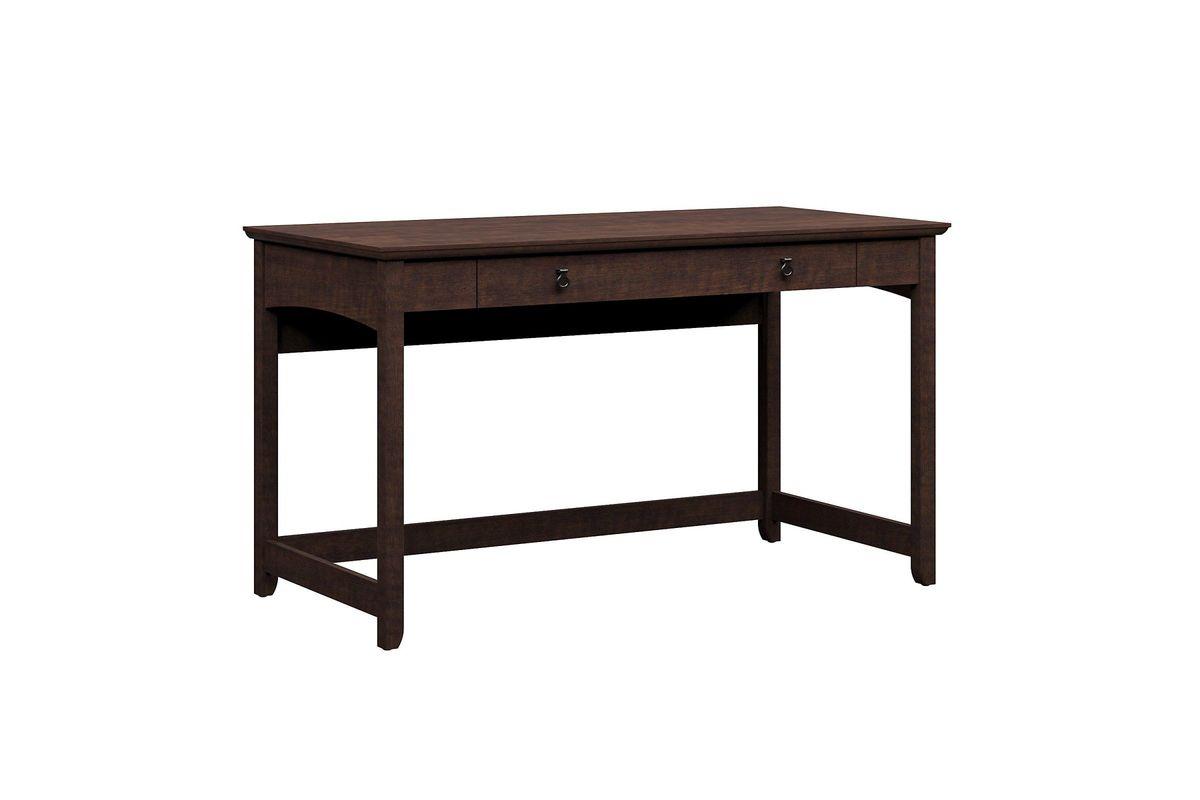Buena Vista Writing Desk in Madison Cherry by Bush from Gardner-White Furniture