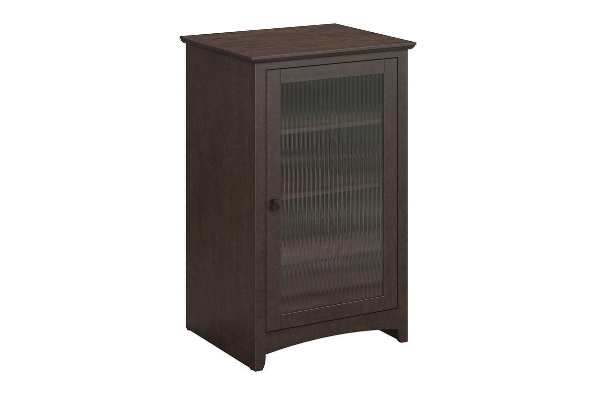 Buena Vista Media Cabinet In Madison Cherry By Bush From Gardner White  Furniture