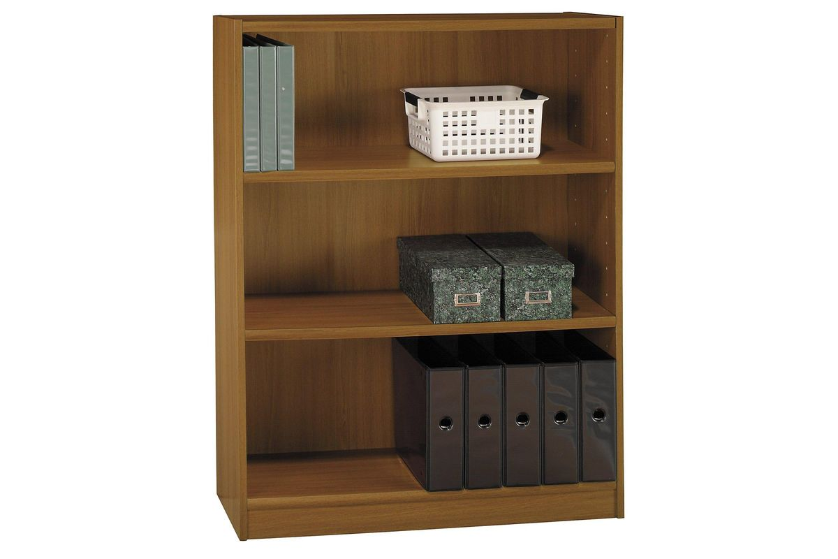 Enjoyable Universal 3 Shelf Bookcase In Royal Oak By Bush Download Free Architecture Designs Rallybritishbridgeorg