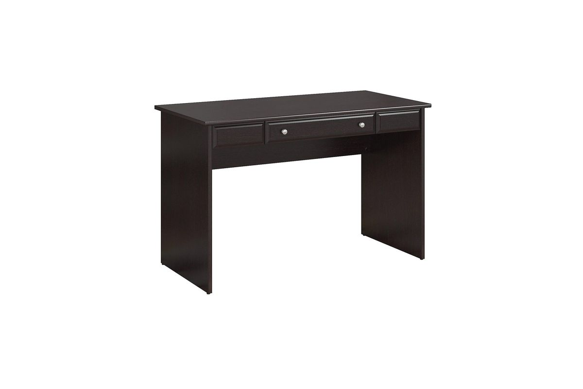 Cabot Writing Desk In Espresso Oak By Bush From Gardner White Furniture