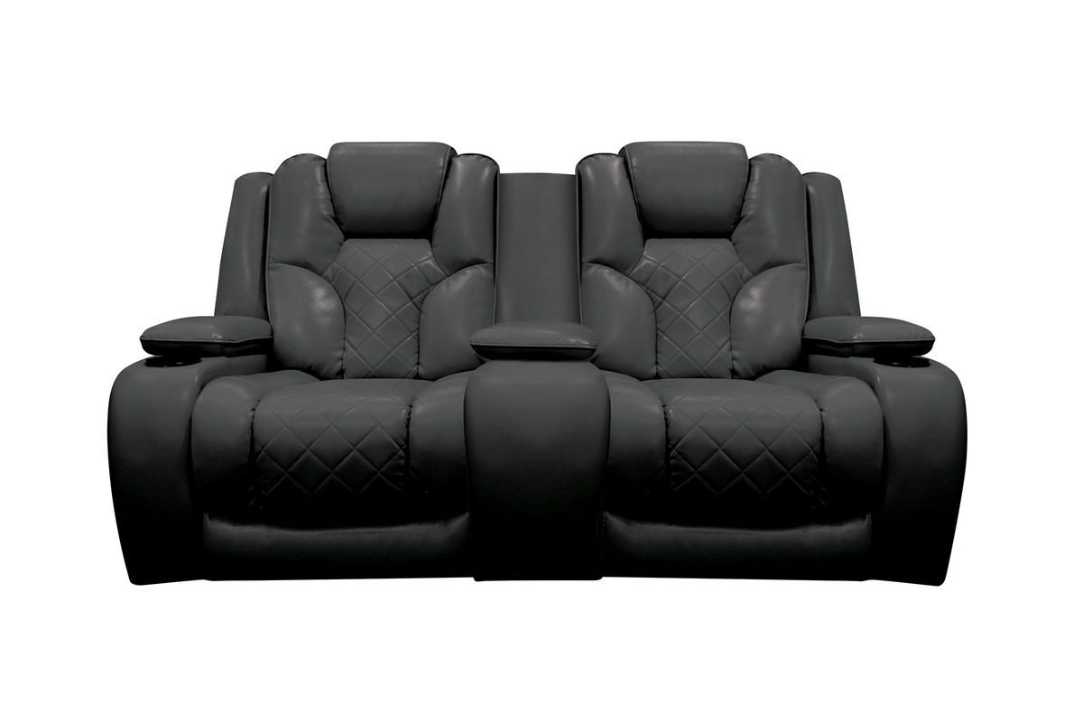 Bastille Power Reclining Loveseat with Console from Gardner-White Furniture  sc 1 st  Gardner-White & Bastille Power Reclining Loveseat with Console islam-shia.org