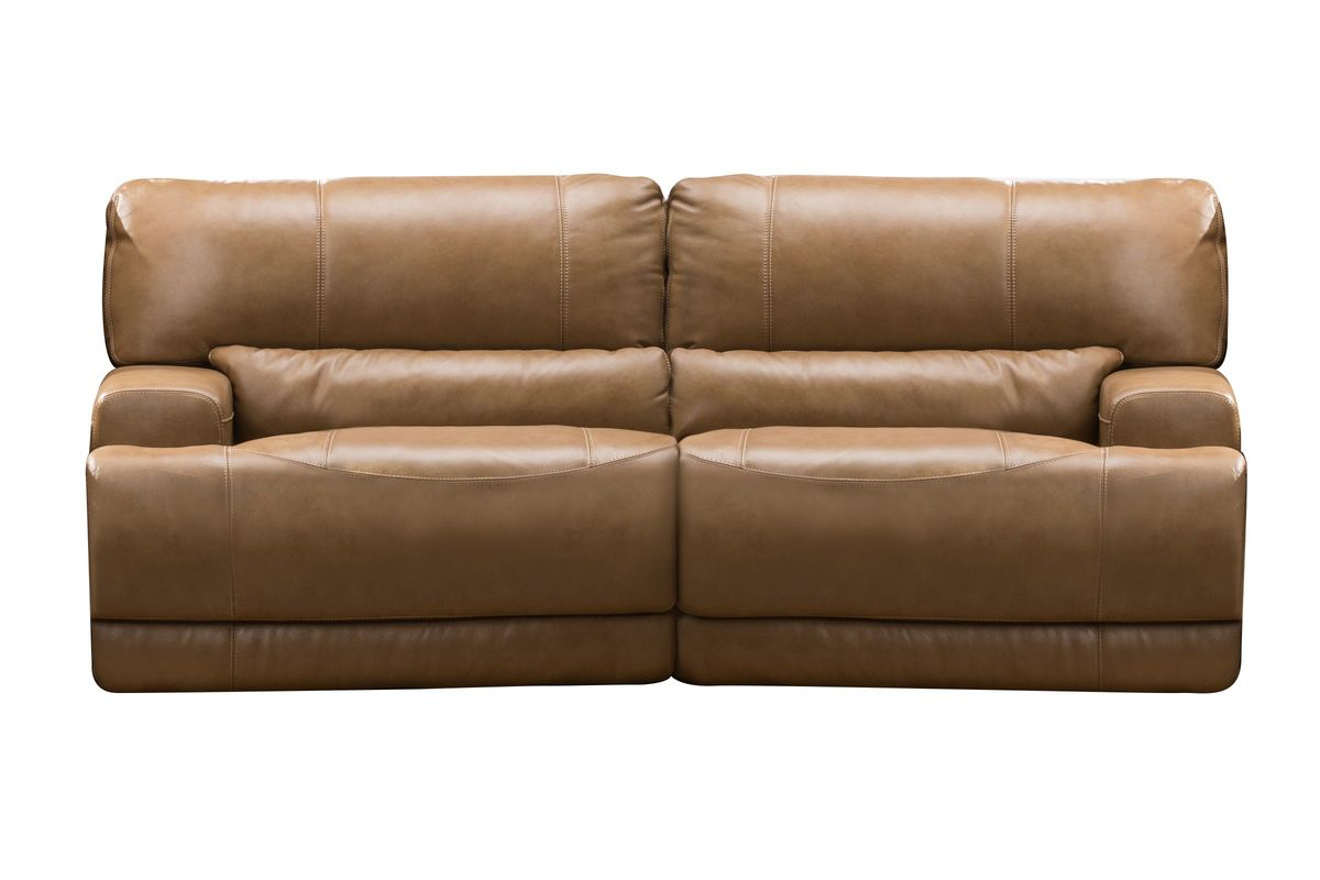 Hamlin Power Reclining Leather Sofa From Gardner White Furniture