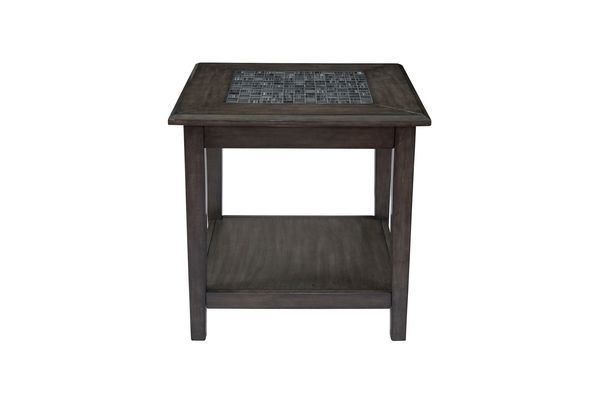 grey mosaic end table - Unique Coffee Tables And End Tables
