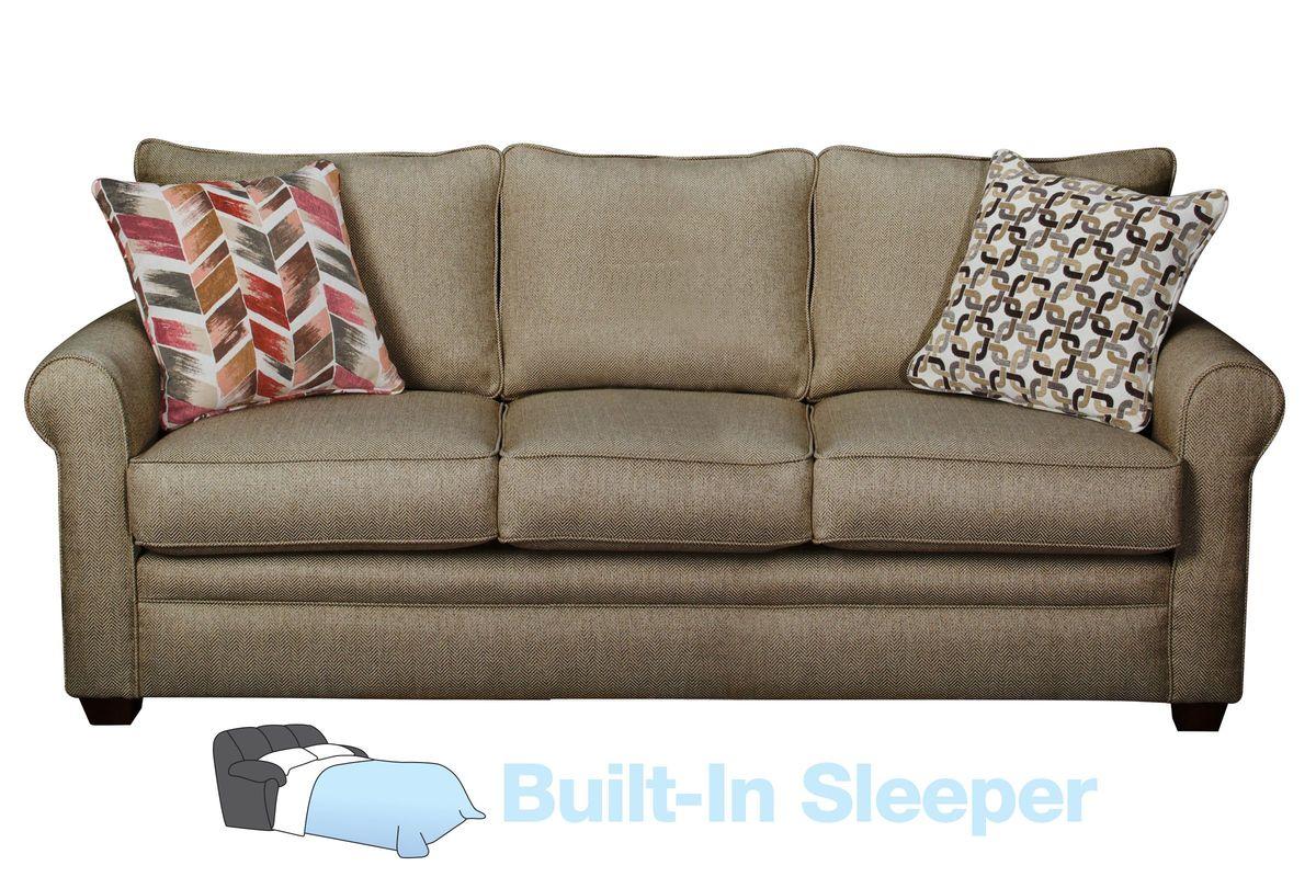 Romero Brown Sleeper Sofa At Gardner White