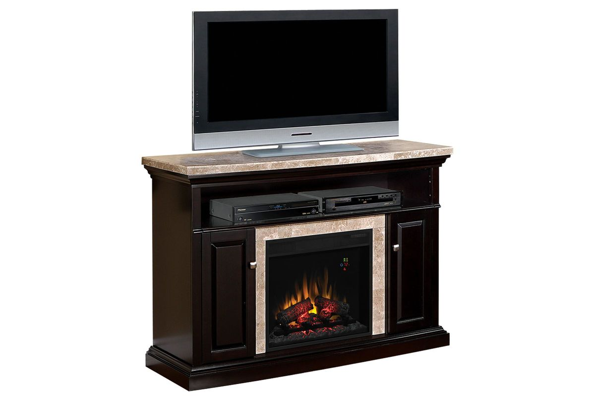 Brighton Black Fireplace from Gardner-White Furniture