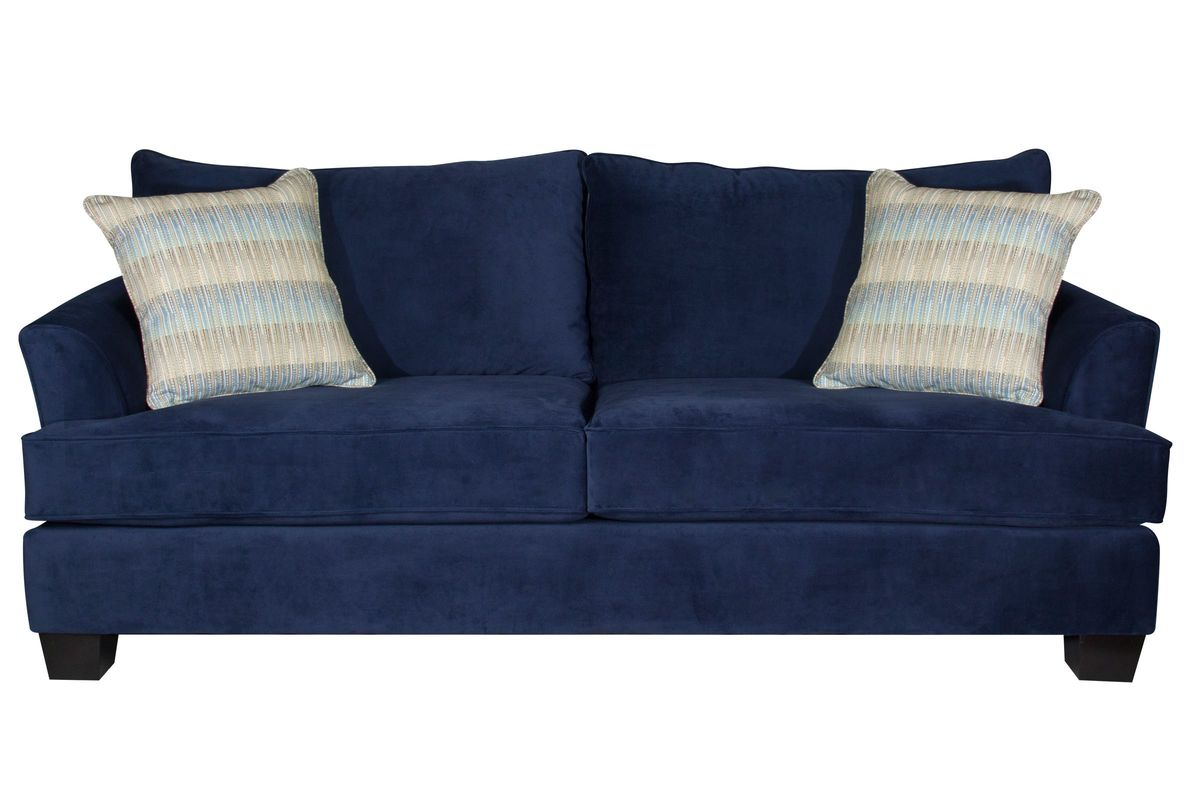 Exceptional Royal Blue Sofa From Gardner White Furniture