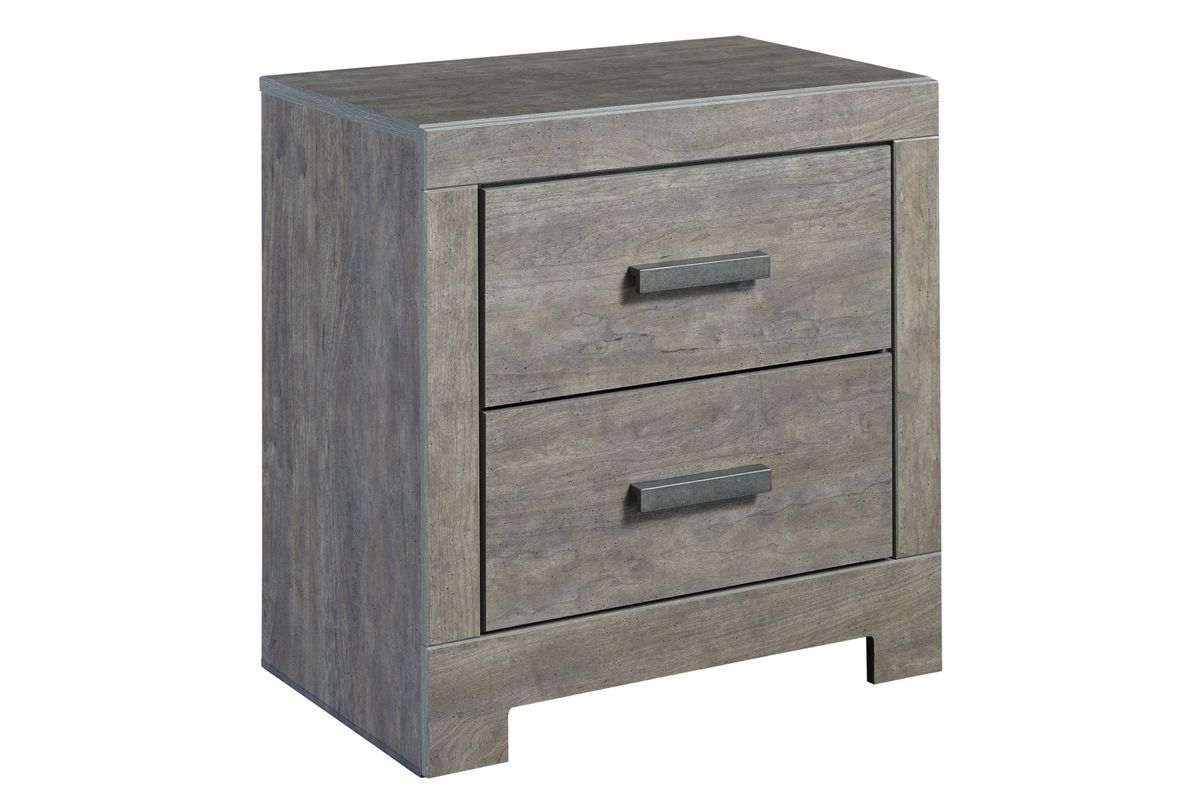 Culverbach Two Drawer Night Stand by Ashley from Gardner-White Furniture