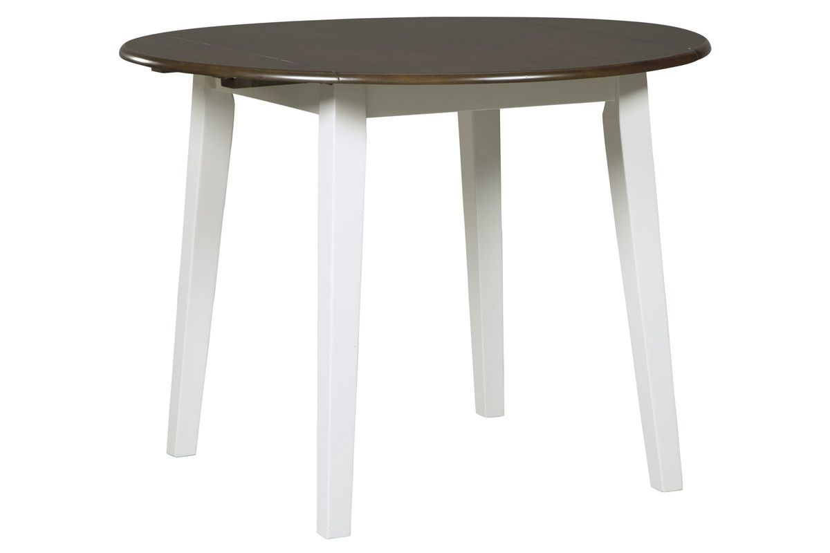 Woodanville Round Drop Leaf Dining Table By Ashley At Gardner White