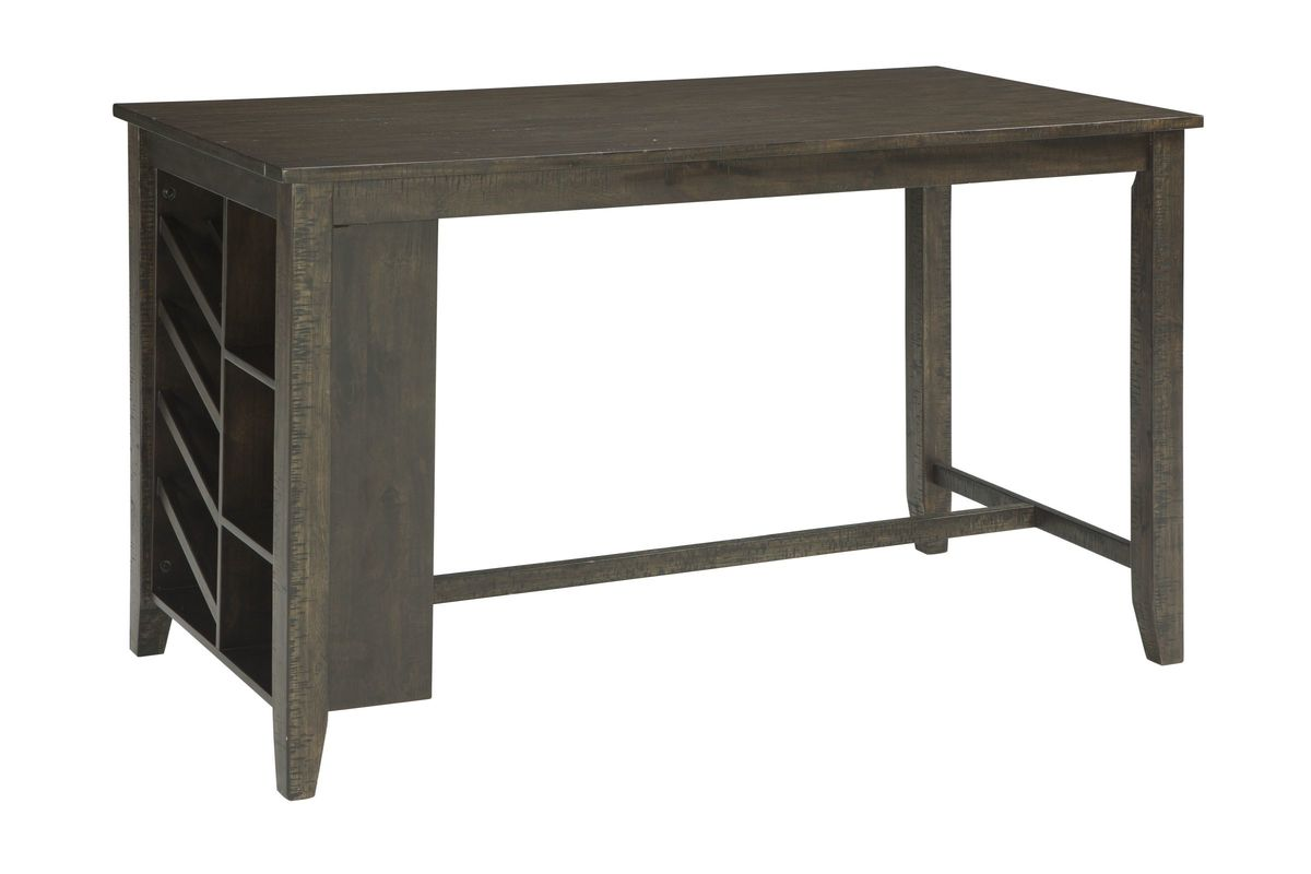 Rokane Rectangular Counter Height Table With Storage By Ashley