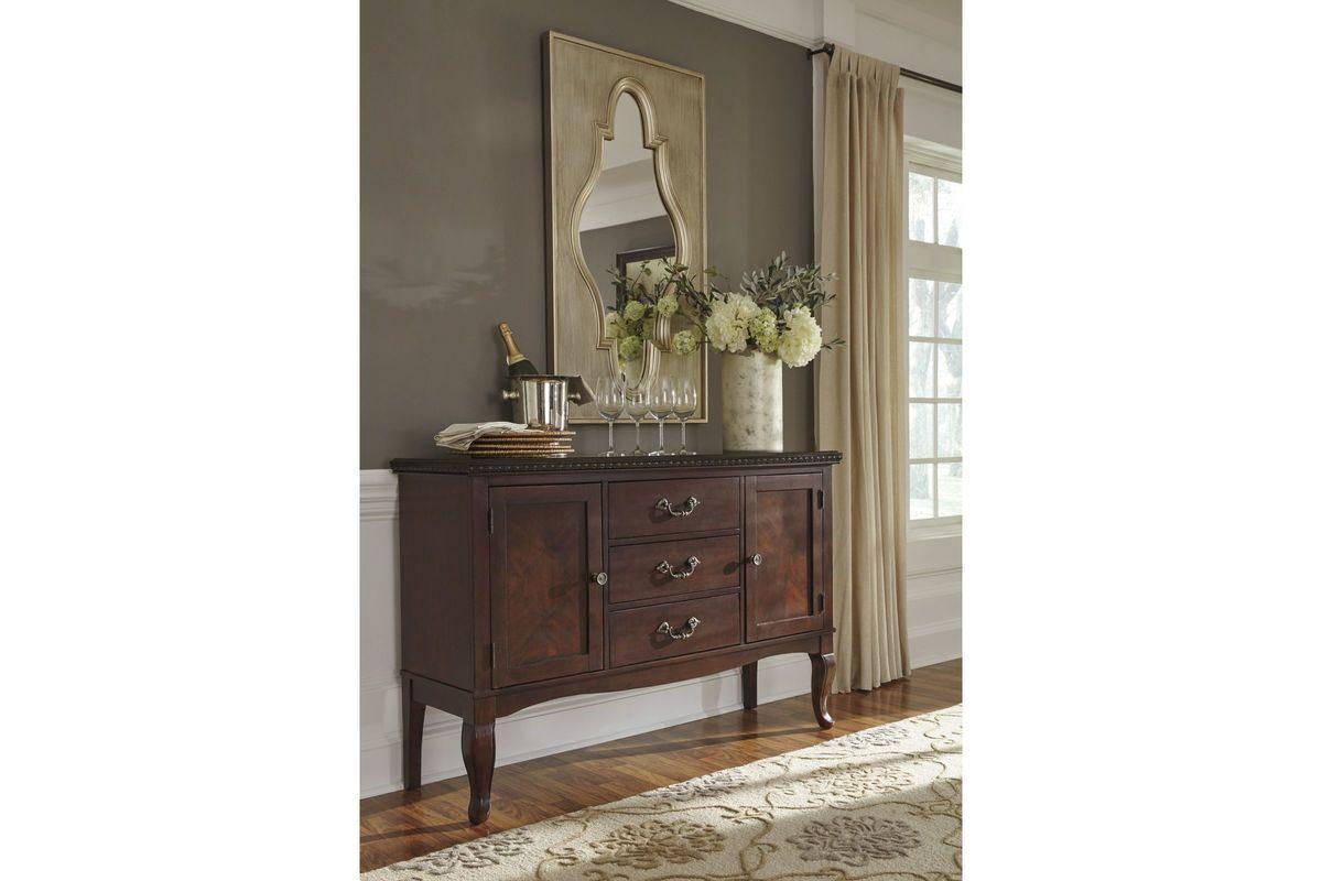 Gladdenville Dining Room Server By Ashley From Gardner White Furniture