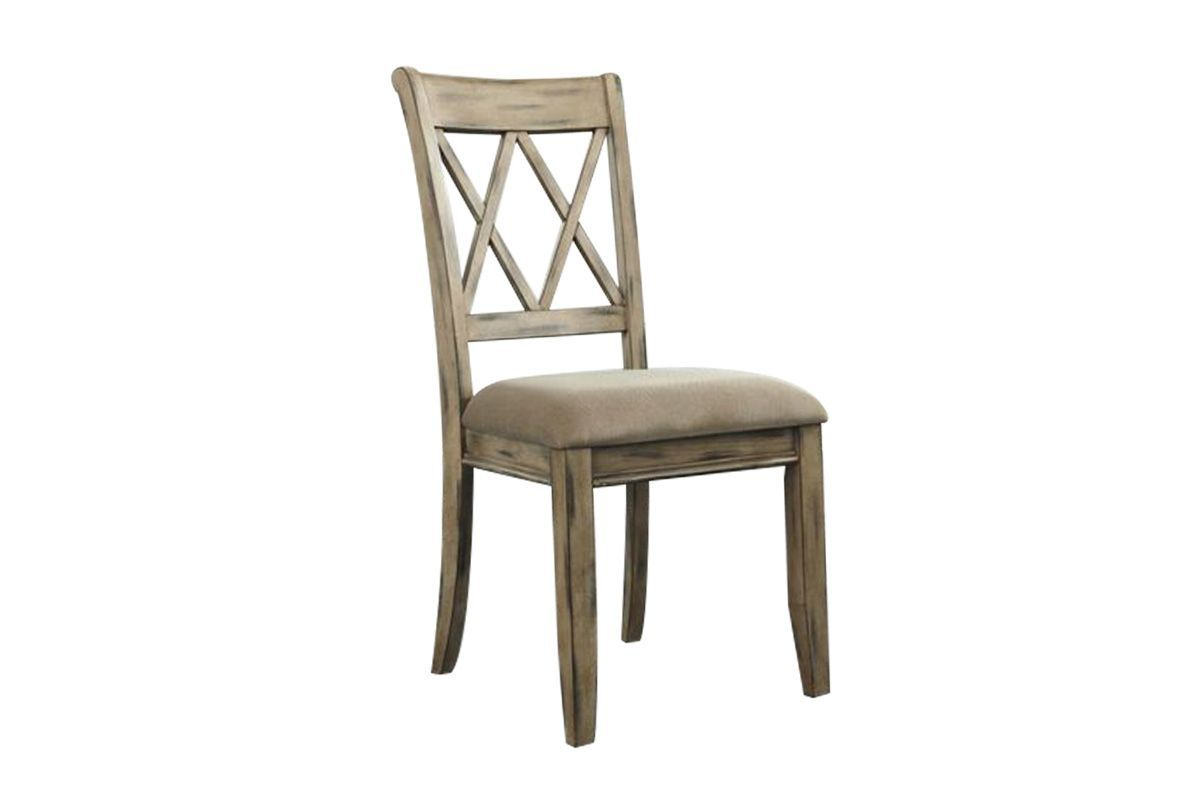 Mestler Dining Side Chair In Antique White Set Of 2 By Ashley