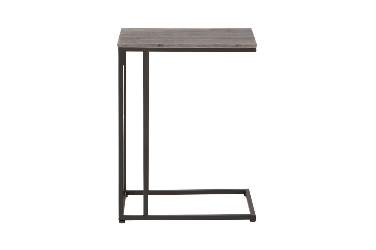 Modern Reflections Accent Table in Grey from Gardner-White Furniture