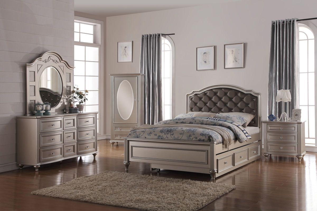 Chantilly Full Bedroom Set (don't use) from Gardner-White Furniture