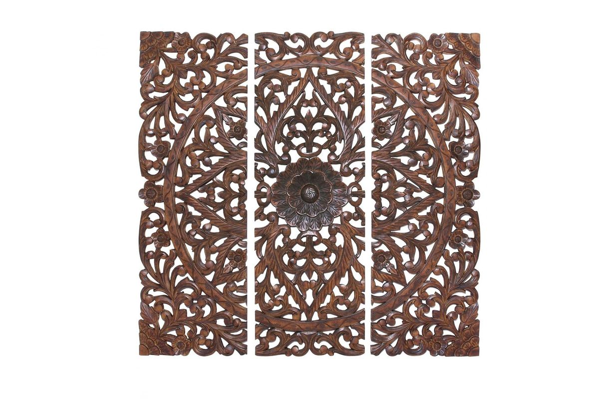New Traditional Scrollwork Wall Panels (Set of 3) from Gardner-White Furniture