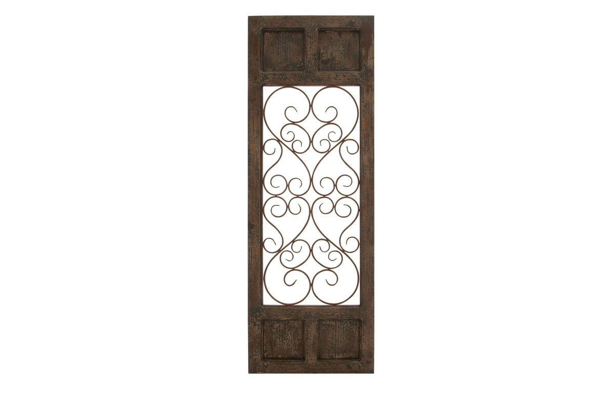 Updated Traditional Wrought Iron Wall Panel At Gardner-White