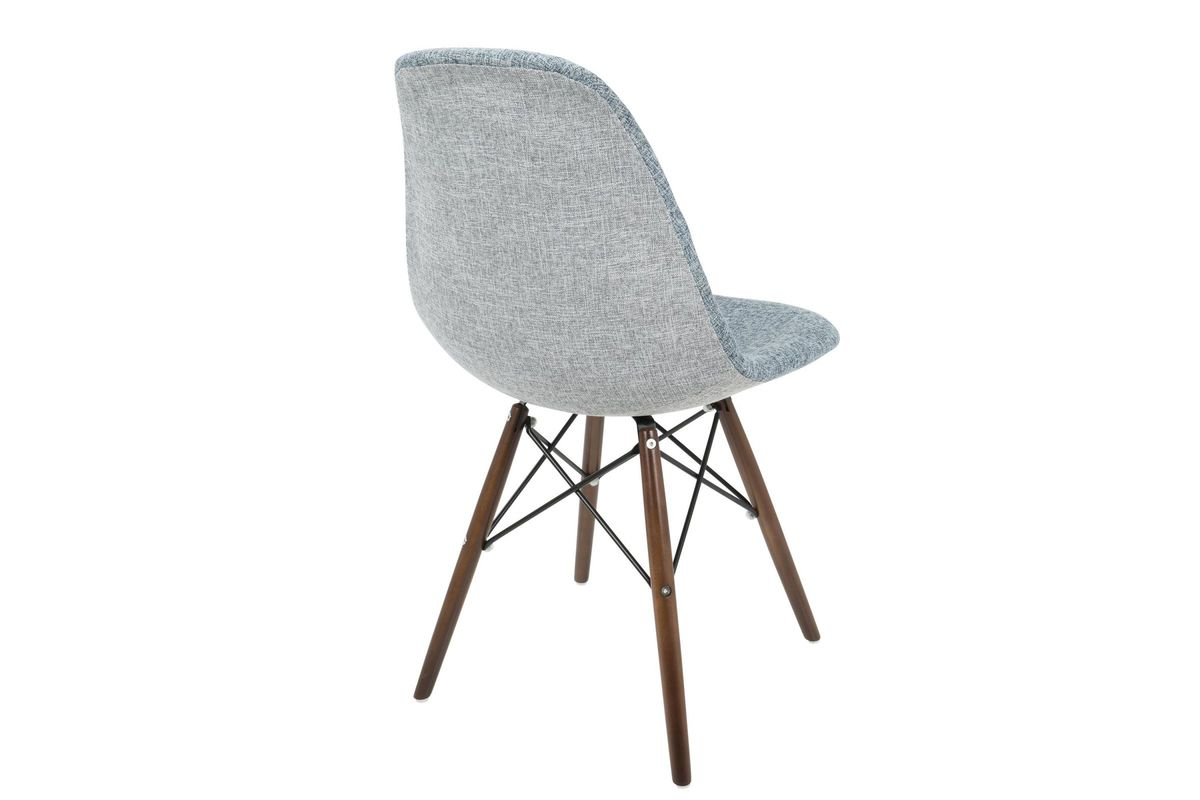 Brady Duo Mid Century Modern Dining Chairs Set Of 2 In