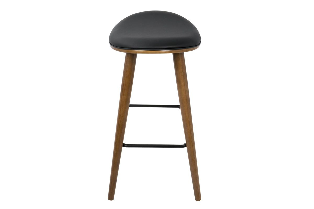 Saddle 26 Quot Mid Century Modern Counter Stools Set Of 2 In