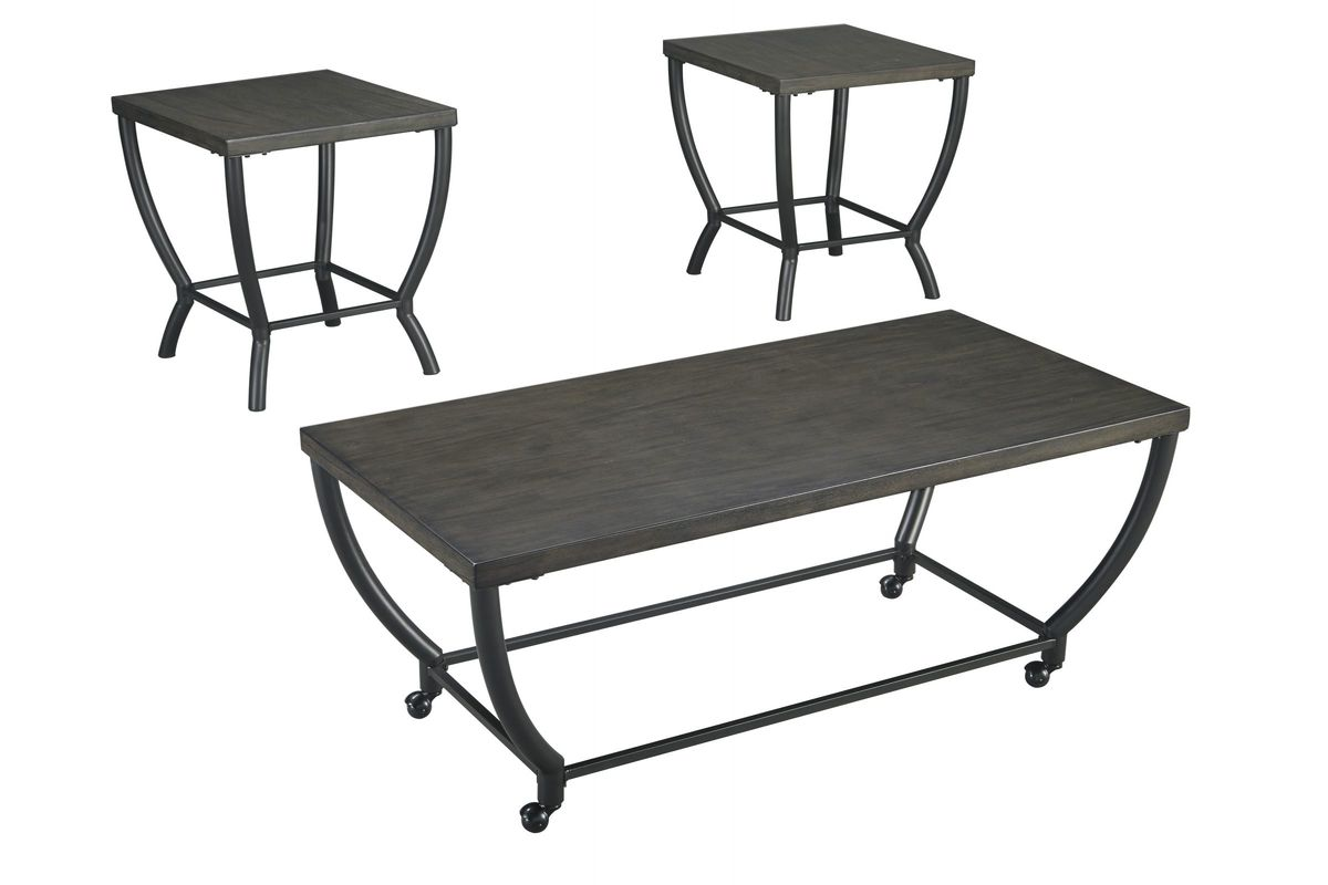 Champori Cocktail and 2 End Tables from Gardner-White Furniture