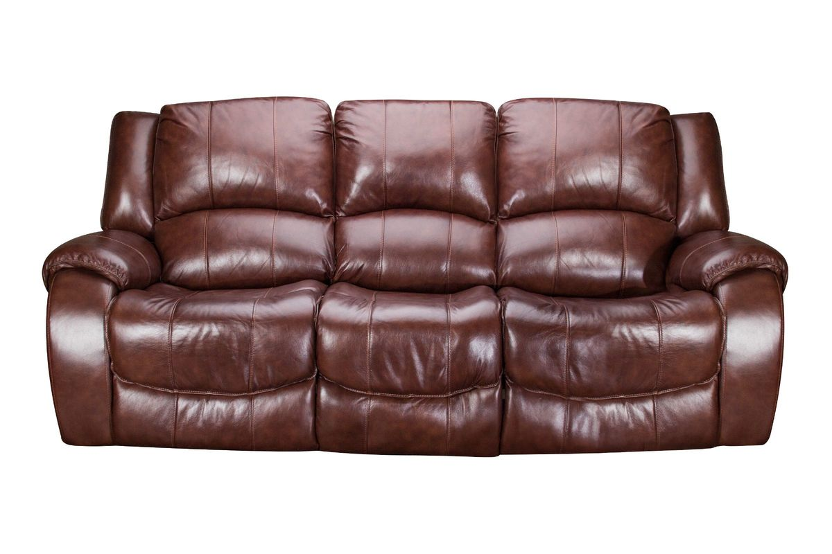 Meadow Leather Power Reclining Sofa from Gardner-White Furniture
