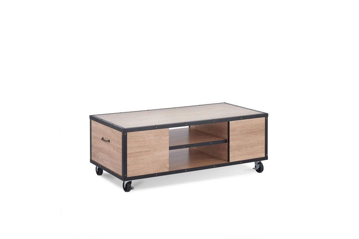 Bemis Coffee Table In Weathered Light Oak By Acme From Gardner White Furniture