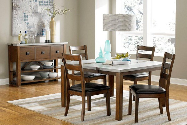 Coolly Modern Formal Dining Room Sets To Consider Getting: Fabulous Dining Rooms On A Budget