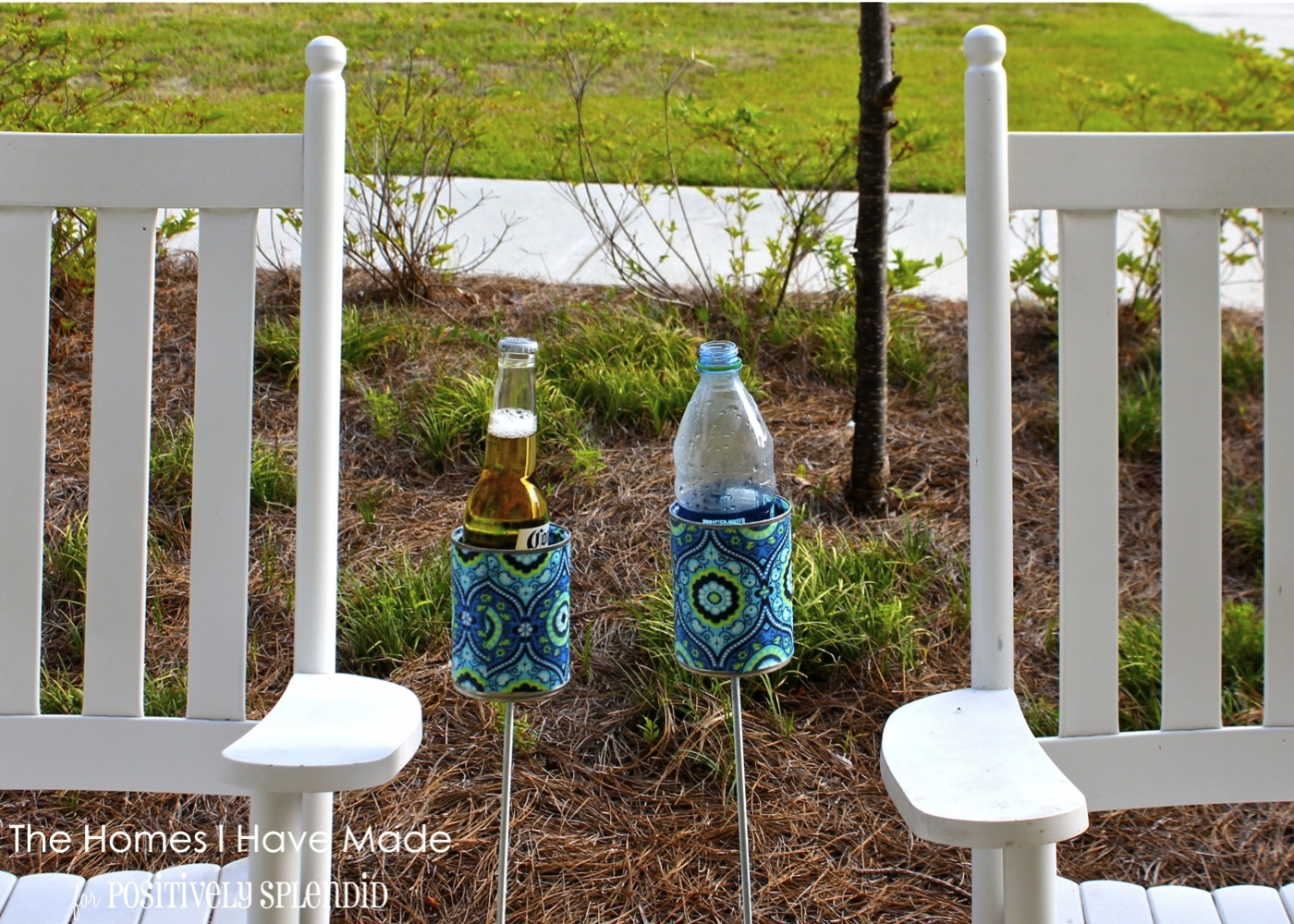 DIY Drink Holders - PositivelySplendid