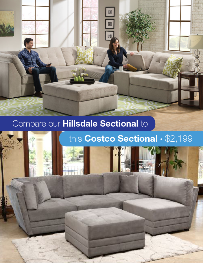 Look for Less Chic Modular Sectional GardnerWhite Blog