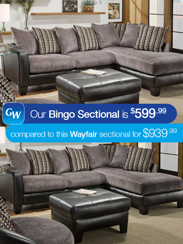 Thatu0027s why at Gardner-White we decided to do the shopping for you. If youu0027re looking for a great modern sectional but ... : gardner white sectionals - Sectionals, Sofas & Couches
