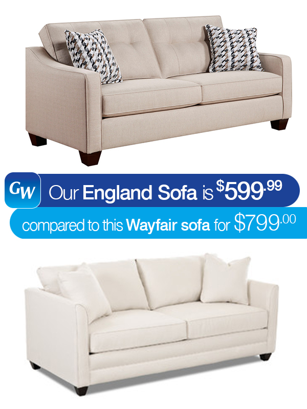 looks for less save 200 with our england sofa gardner white blog. Black Bedroom Furniture Sets. Home Design Ideas
