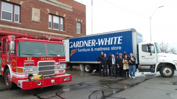 Gardner-White Donates To Fire Stations | Gardner-White Blog