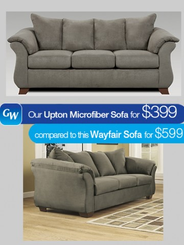 looks for less save 200 on our upton sofa gardner white blog. Black Bedroom Furniture Sets. Home Design Ideas