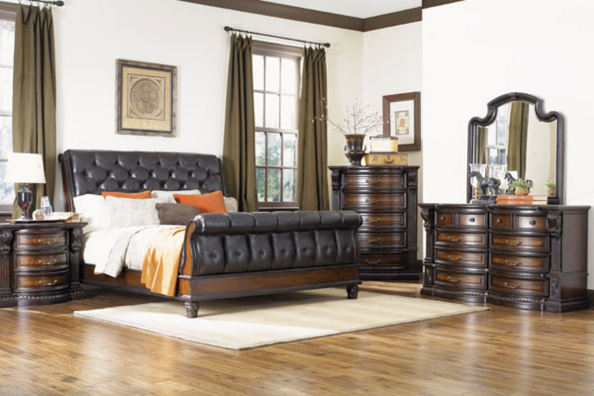 cabernet collection bedroom at gardner white furniture