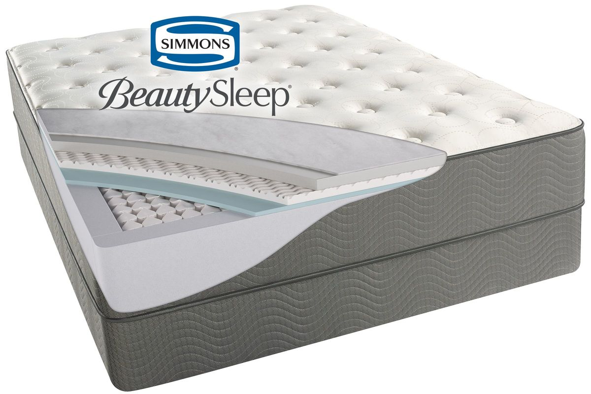 Simmons 174 Beautysleep 174 Beaver Creek Plush Mattresses