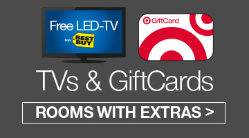 Free LED-TVs and Free Target GiftCards