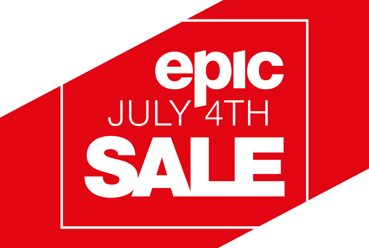 Epic July 4th Sale Logo