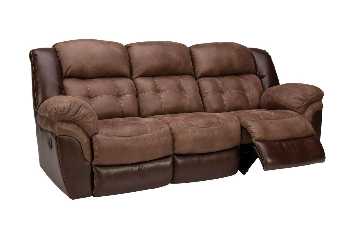 Fenway Microfiber Reclining Sofa At Gardner White