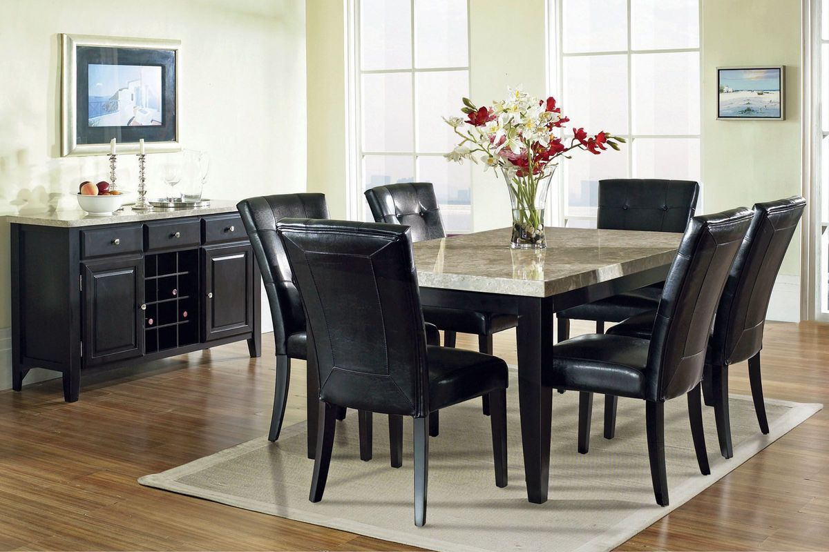 Monarch Dining Table + 6 Chairs at Gardner-White