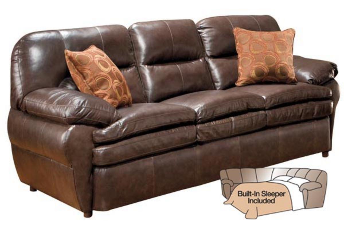 seville leather sleeper sofa from gardner white furniture