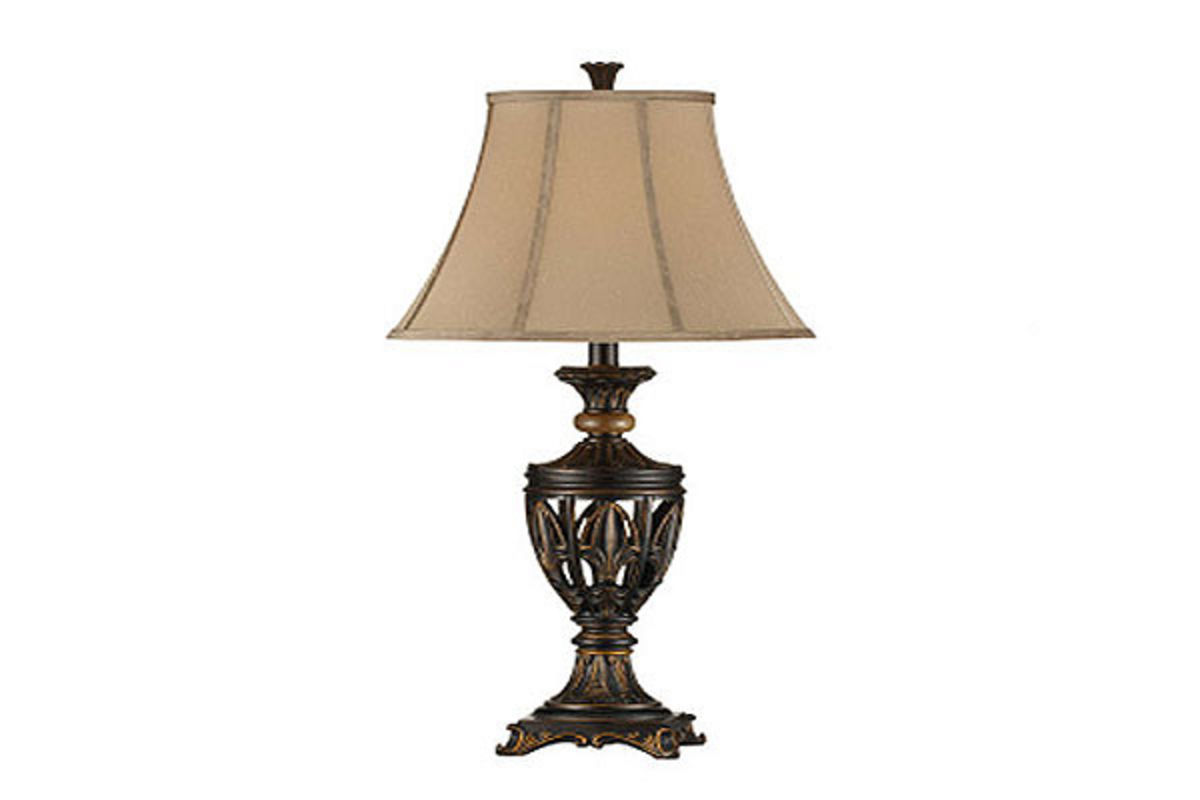 Old World Antique Table Lamp At Gardner White