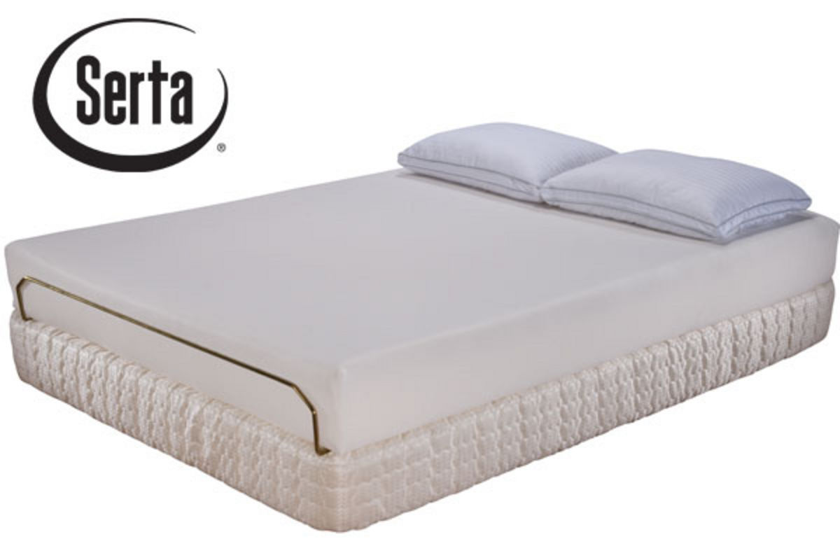 Serta Apple Valley Visco Memory Foam Queen Set from Gardner-White Furniture