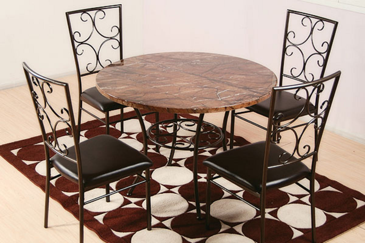 Simplicity Dining Table 4 Chairs at