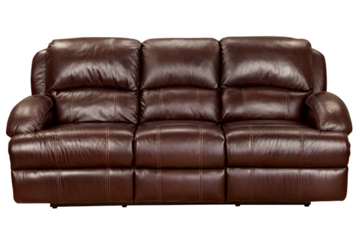 Malta leather power reclining sofa for Leather reclining sofa