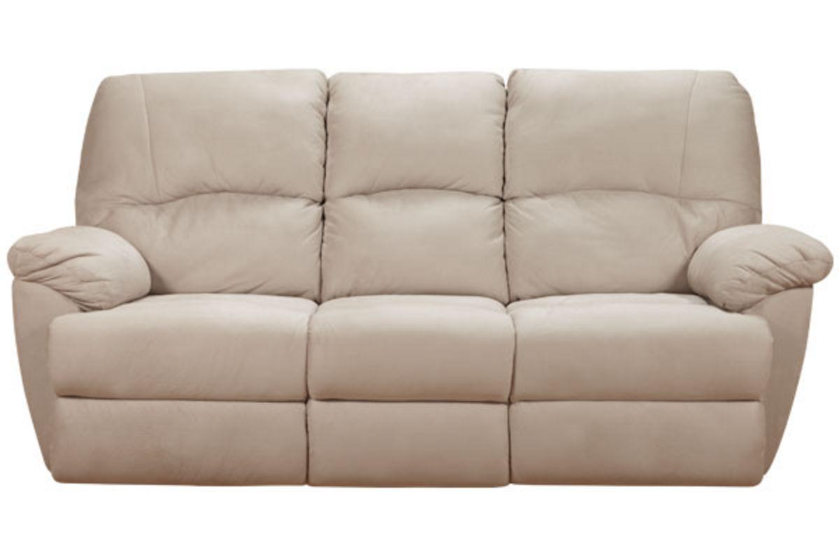 Orlena Microfiber Reclining Sofa At Gardner White