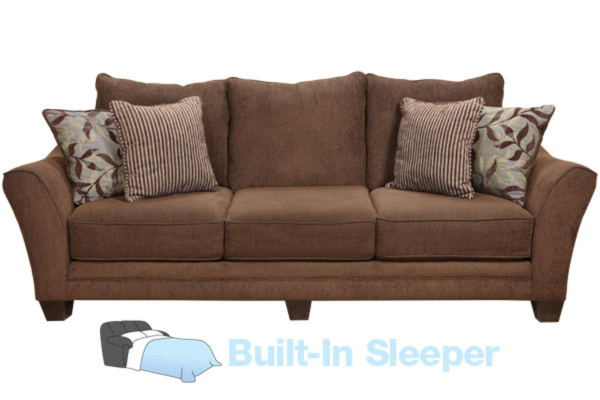 Whistler Sofa with Built-In Sleeper from Gardner-White Furniture